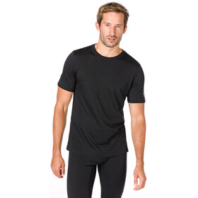 super.natural M's Base Tee 140 Jet Black